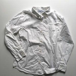 Old Navy boys' button down dress shirt, XL 14 - 16